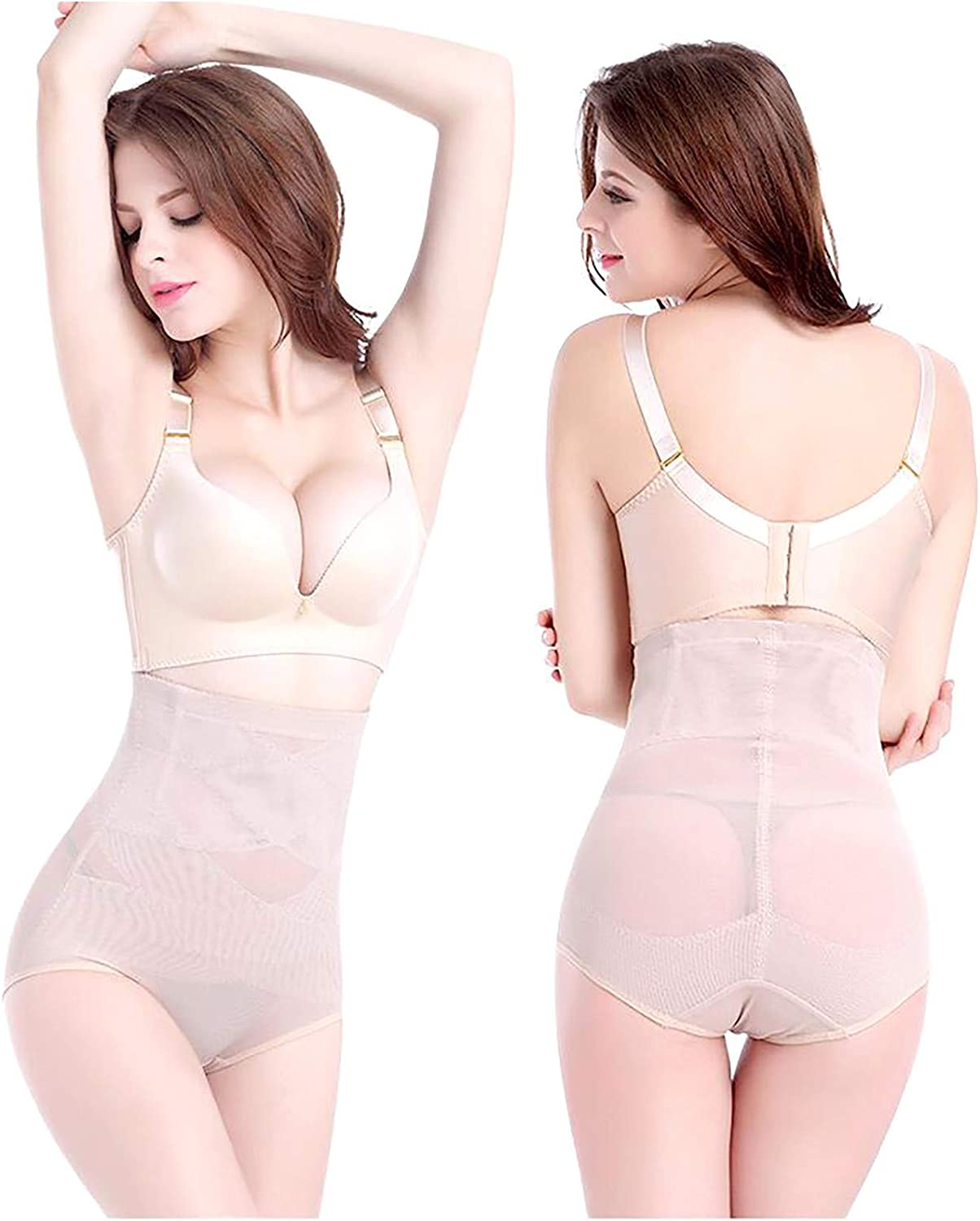HEling Shapewear for Women Beauty Slim Cross Cover Cellulite Fork Compression Shaping Pants Tummy Control Underwear