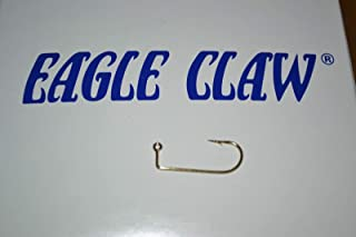 Experience Real Fishing Eagle Claw 575 Gold JIG Hook #4 100 PER Pack Crappie DO IT MOLDS JIG Heads World Class Fishing