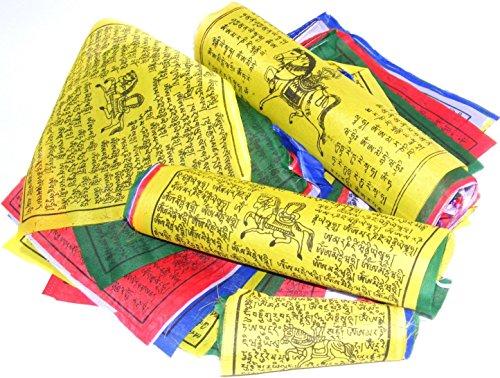BUDDHA arts&more Gebetsfahnen/Prayer Flags Größe S