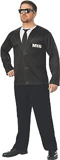 Men's Men in Black International Agent H Costume Top