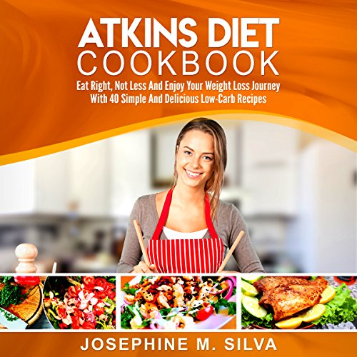 Atkins Diet Cookbook audiobook cover art