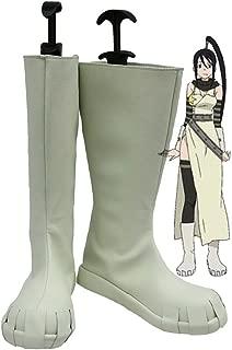 Soul Eater Tsubaki Nakatsukasa Cosplay Shoes Boots Custom Made
