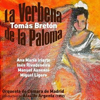 Tomás Bretón: La Verbena de la Paloma [Zarzuela en Un Acto] (1952)
