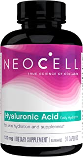 NeoCell Hyaluronic Acid Double Strength, 120 mg, 30 Capsules