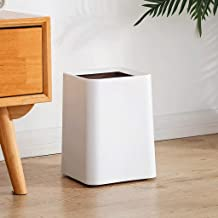 JJZXD Trash Cans Without Cover Trash Bins Kitchen Bathroom - Thick Double Layer Bedroom Bin Rubbish Bin for Bedrooms, Bath...