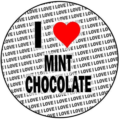 AK Giftshop Ik hou van Mint Chocolade - Ronde 8