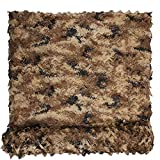 HYOUT Woodland Camouflage Netting Jungle Camo Net for Hunting...