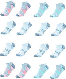 Ladies 8-pair No Show Athletic Socks for Women