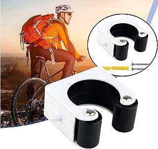 CTB - Hebilla de aparcamiento para bicicleta, interior y exterior, sistema de almacenamiento para bicicleta, fácil de instalar