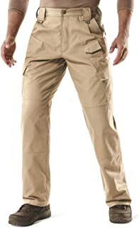 CQR Men's Tactical Pants, Water Repellent Ripstop Cargo Pants, Lightweight EDC Hiking Work Pants, Outdoor Apparel