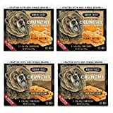 Kodiak Cakes Crunchy Granola Bar Variety Pack: (2 Boxes) Peanut Butter and (2 Boxes) Chocolate Chip