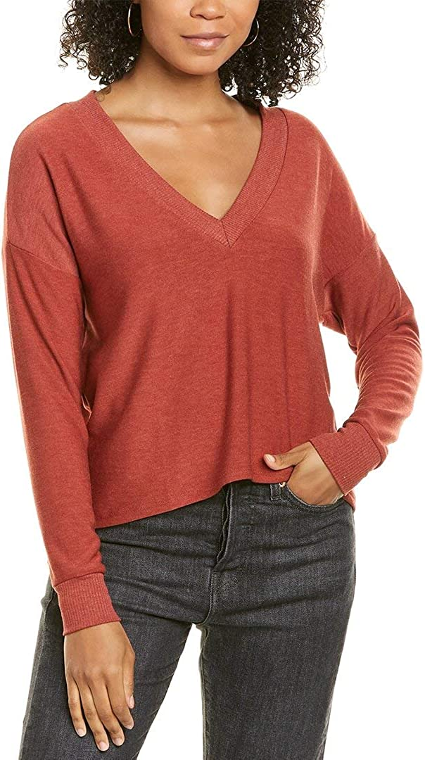 CHASER Cozy Knit Cropped Pullover