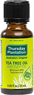 Thursday Plantation Australian Tea Tree Oil, Naturally Sourced Oil, Cleanses and Purifies, 0.85 fl oz