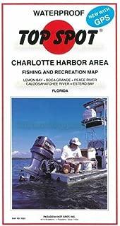 Top Spot Fishing Map for Charlotte Harbor