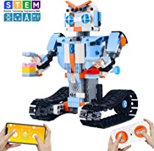 CENOVE STEM Toys for 8+ Year Olds Build a Robot Kit Remote Control Robot Engineering Building Toys Intelligent Gift for Boys and Girls