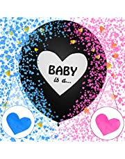 Niño o Niña Globo,Baby Shower Party,Gender Reveal Decoration,Boy or Girl Party,Niño o Niña Sorpresa,Boy or Girl Baby Shower (negro2)