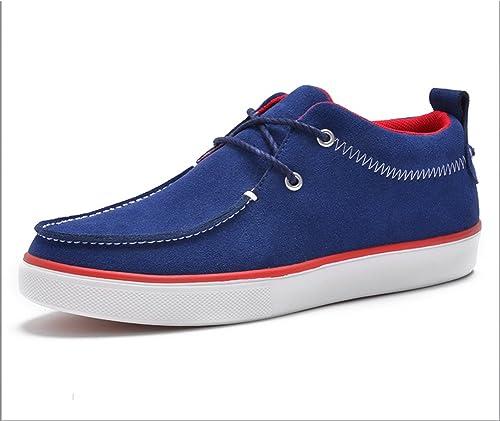 WLJSLLZYQ leichte Sommerschuhe Herren Canvas Schuhe Atmungsaktiv Herren Schuhe Freizeitschuhe Board-Schuhe