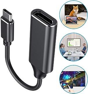 HDMI変換アダプター 変換ケーブル USB-C HDMI ビデオ対応 ディスプレイ アダプタ4K変換 コネクタ MacBook Pro/MacBook Air/Chromebook/Dell XPS15/Sumsung S9/Huawei P...