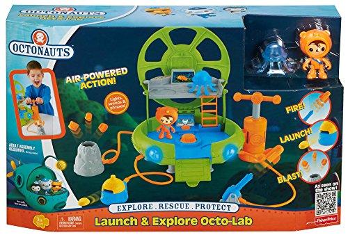 Fisher-Price – Les Octonauts – Octo-Lab des Pronfondeurs – Playset + Figurine