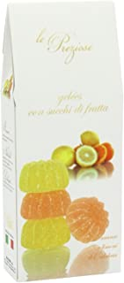 orange and lemon jelly sweets