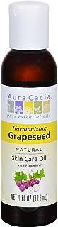 Aura Cacia Natural Skin Care Oil Grapeseed - 4 fl oz