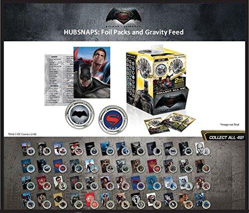 Batman v Superman Dawn of Justice présentoir Hubsnaps Blind Bags (60) Neca Comics Trading cards