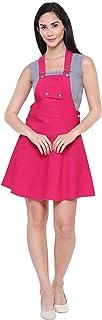 GSA MALL G S A Enterprises NewTrend Cotton Lycra Dungaree Skirt for Women