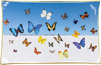 Gray Malin Butterflies Porcelain Tray
