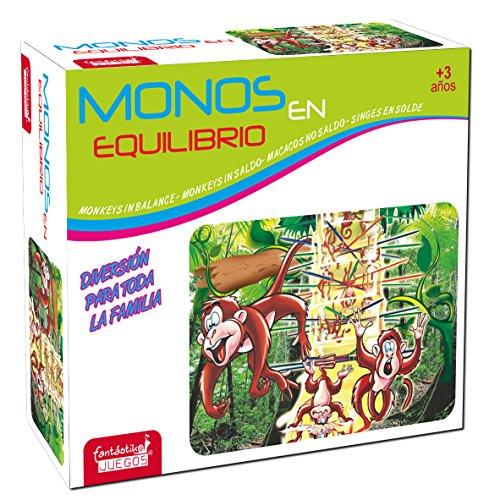 JUINSA- Juego Monos Quita la Rama, Multicolor, 21 x 27 cm (9843)