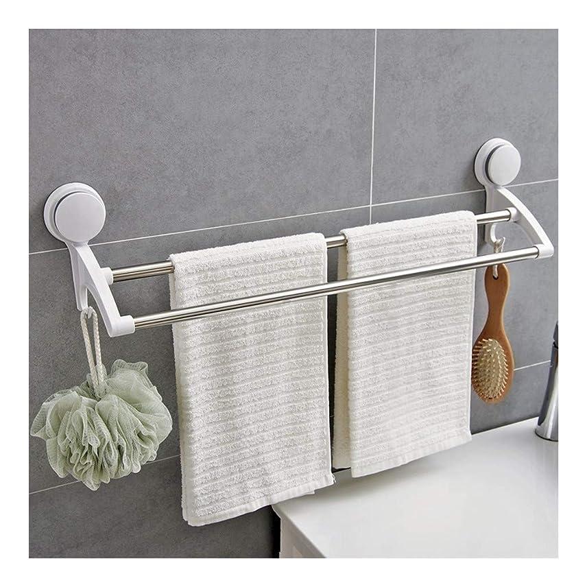 一握り所持ダブル浴室ラック,タオルリング タオル掛け タオルハンガー 壁掛け キッチン 洗面所 トイレ おしゃれ シンプル 収納