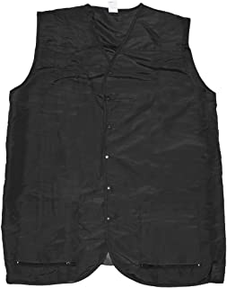 Betty Dain Cool Vent Mesh Back Barber Vest, Black, XL