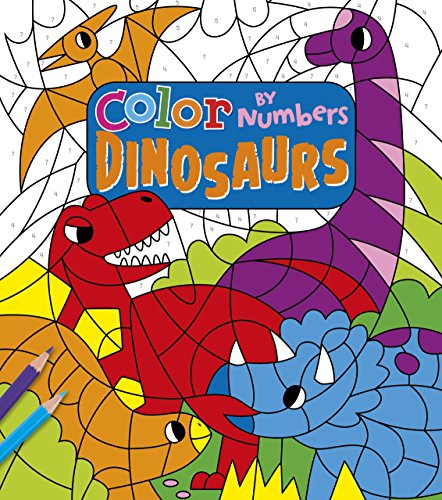 Color by Numbers: Dinosaurs