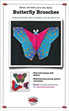 Butterfly Brooches Pattern by Julie Creus of La Todera 3 Sizes: 6