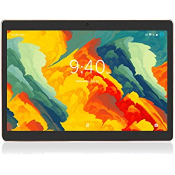 Tablet 10 Pulgadas 4G LTE WIFI BEISTA,Android 9.0 tableta,4GB RAM 64GB ROM,Quad-core,Full HD display,GPS,Bluetooth,OTG(Negro)