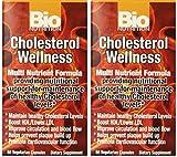 Bio Nutrition Cholesterol Wellness Veggie Capsules - 60 Ea, 2 Pack by Bio Nutrition