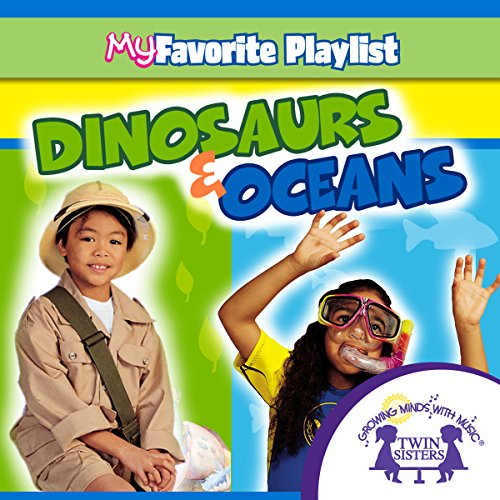 Dinosaurs and Oceans audiobook cover art