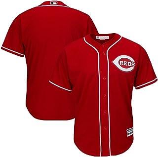 VF Cincinnati Reds MLB Mens Majestic Alternate Cool Base Replica Red Jersey Big & Tall Sizes