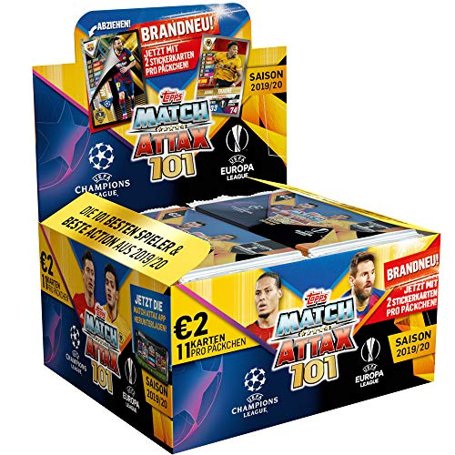 CAGO Topps Match Attax 101 - 2019/20 - 1 Display (24 Booster)
