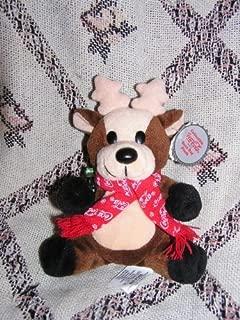 Collectible Coca-Cola Bean Bag Plus -Reindeer in Coca-Cola Snowflake Scarf, Style #0142