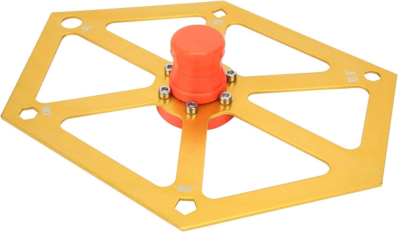 Tgoon Convenient Aluminum In a popularity Alloy Aluminu Hex Ruler Recommendation Hexagon