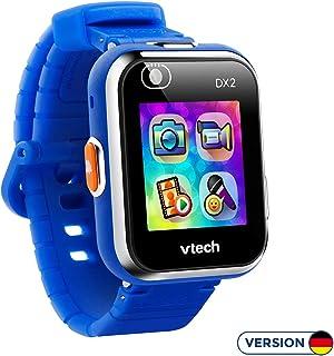 VTech Kidizoom DX2 - Reloj Inteligente para Niños, a Prueba de Salpicaduras, color Azul, idioma Aleman