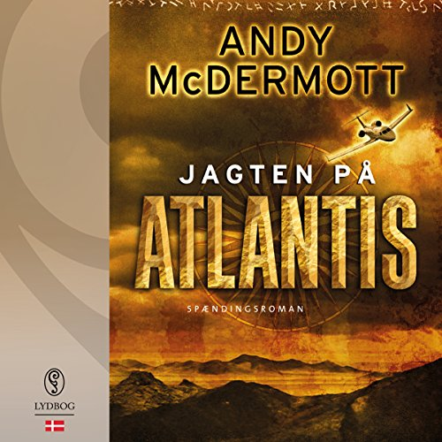 Jagten på Atlantis (Danish Edition) audiobook cover art