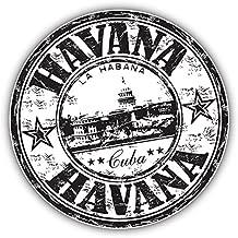 Havana Cuba Grunge Stamp Pegatina de Vinilo Para la Decoracion del Vehiculo 12 X 12 cm