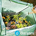 Danjani outdoor raised garden bed with drop over greenhouse - durable, anti-rust steel flower beds - 71. 3 gal planter… 18 perfect for every gardener: whether you're an experienced gardener or as new as freshly grown sprouts, this raised garden bed kit is perfect for you. The planter box makes growing herbs, vegetables and plants easy and stress-free. Enjoy low maintenance with the greenhouse, which provides weather protection, keeping heat and moisture in, and bugs and critters out. Protect and nourish plants: the greenhouse drop over can increase plant yield by providing a warm and nourishing environment to grow in. It also protects from extreme weather, making it possible to grow plants that normally wouldn't fare well in your area. Enjoy year-round fruits and vegetables with the option to grow in the winter. Save money: the rising cost of herbs and produce makes eating healthy an expensive option. But it doesn't have to. Growing your own food can be rewarding, not only for your body and mind but for your wallet too. Have year-round access to some of your favorite fruits, vegetables, and herbs with only the minimal cost of growing them!