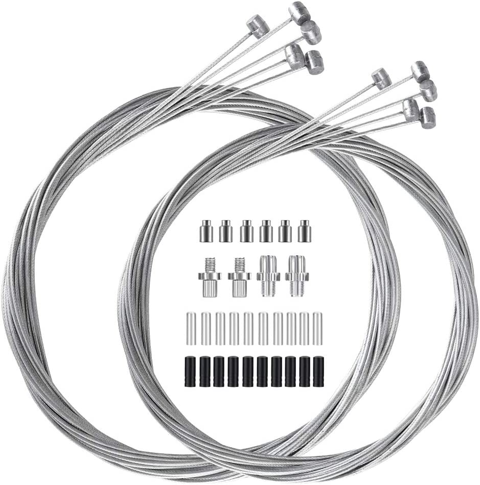 YASI Bike Brake Cable 10 Bicycle Pack Super Special SALE held Cables Wires Columbus Mall
