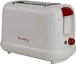 Moulinex 2 Slots Principio White Toaster