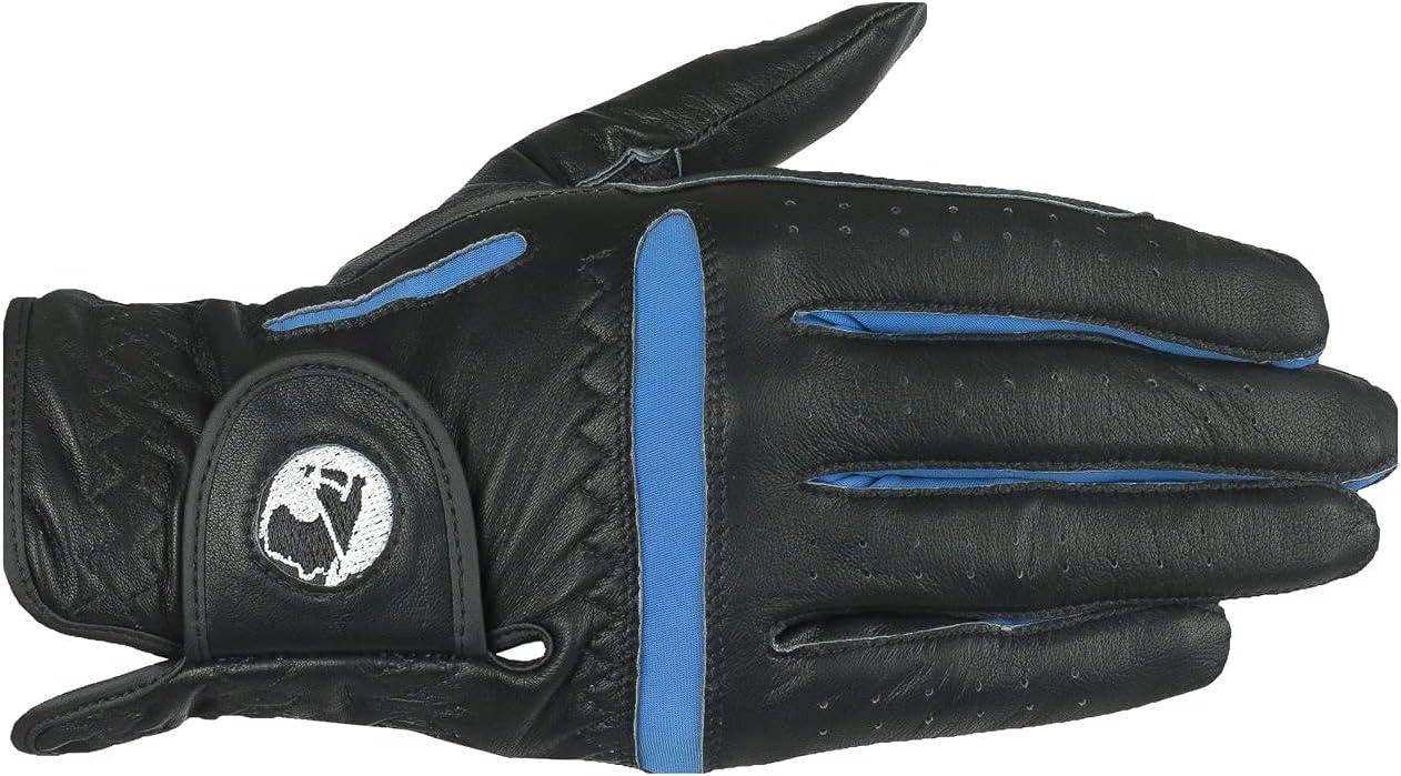 FINN TACK Finntack Venado Gloves - Sheepskin - Black/Blue - 12