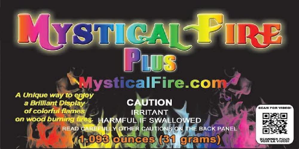 Sale price Mystical Fire PLUS Campfire Fireplace Pack Packets Colorant 12 Elegant