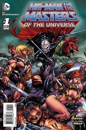 He-Man & The Masters of the Universe (DC Vol1) # 1 (Ref-44396120)