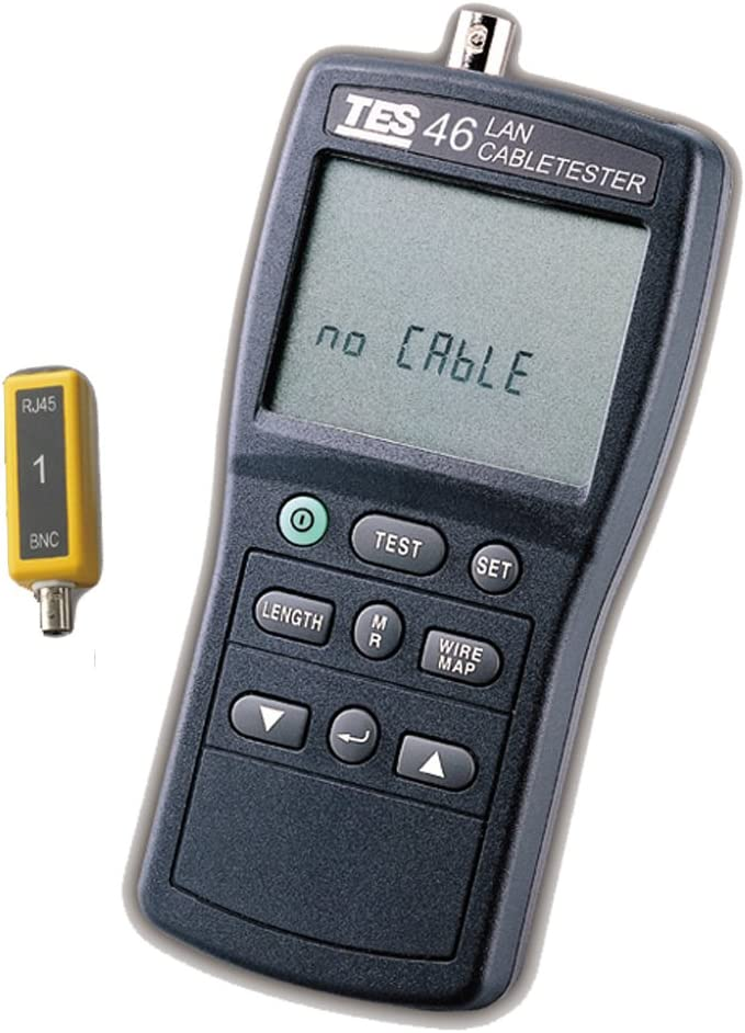 TES 46 CAT-5 specialty shop Cable Tester Gifts Lan